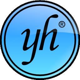 yh logo icon shiny blue 2 256px