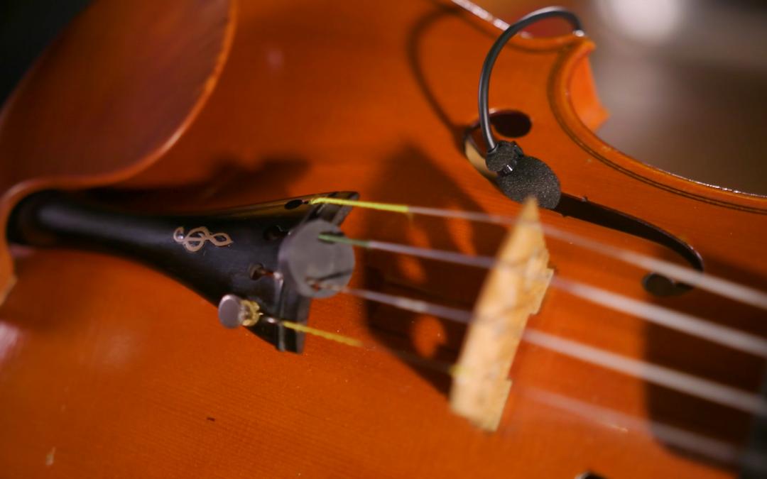 Choosing a Violin Mic: Stand-alone vs. Mounted